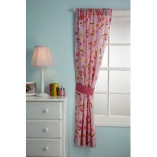 Sweet Lil Birds Single Curtain Panel