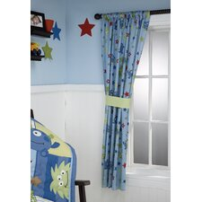 Monster Babies Single Curtain Panel