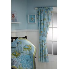 Ocean Dreams Single Curtain Panel