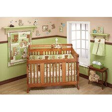 Dream Land Teddy 10 Piece Crib Bedding Set