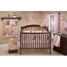 Dreamland Teddy 10 Piece Crib Bedding Set