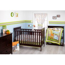 Critter Pal 3 Piece Crib Bedding Set