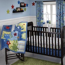 Monster Babies 3 Piece Crib Bedding Set