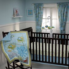 Ocean Dreams 3 Piece Crib Bedding Set