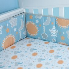 Celestial Baby Traditional Padded Bumper