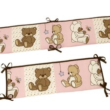 Dreamland Teddy Crib Bumper