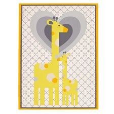Safari Giraffe Framed Art