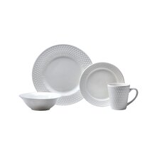 Satin Weave 16 Piece Dinnerware Set