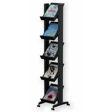5 Pocket Small Single Sided Literature Display