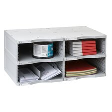 2000 ArchivoDoc Duo Jumbo Literature and Forms Sorting Station with 4 Compartment