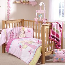 Lottie and Squeek 2 Piece Cot Bed Set