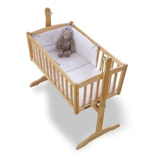 Stardust Rocking Crib Quilt and Bumper Set