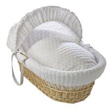 Marshmallow Moses Basket