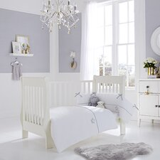 Silver Lining 2 Piece Cot Bed Set