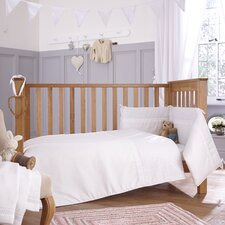 2 Piece Cot Bed Set