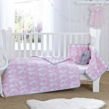 Rabbits Cot Bed Set