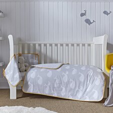 Whales Cot Bed Set
