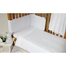 Broderie Anglaise 3 Piece Bedding Set