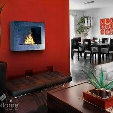 Hestia Wall Mount Bio Ethanol Fireplace