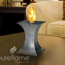 Concave Stainless Steel Bio-Ethanol Fire Column