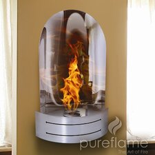 Vesta Wall Mount Ethanol Fireplace
