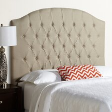 Humble and Haute Hanover Arched Upholstered Linen Headboard