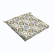 Diamonds Outdoor Dining Chair Cushion