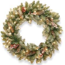Dunhill Fir Pre-Lit Wreath