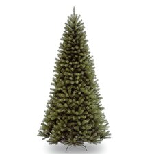 North Valley Spruce 9' Green Artificial Christmas Tree and Stand