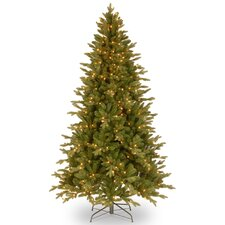 Avalon 6.5' Green Spruce Artificial Christmas Tree with 400 Clear Lights and Stand