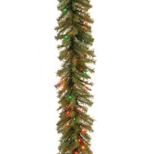 Norwood Fir Pre-Lit Garland with 50 Battery-Operated Lights
