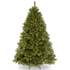 7.5' Winchester Pine Artificial Christmas Tree with 500 Clear Lights