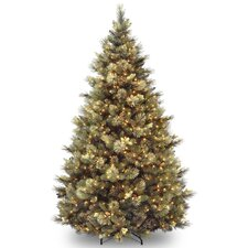 7.5' Carolina Pine Artificial Christmas Tree with 750 Clear Lights