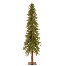 Hickory Cedar 6' Green Artificial Christmas Tree with Unlit