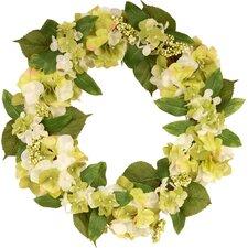 "24"" Hydrangea Berry Wreath"