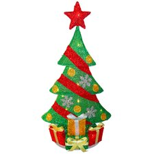 Decorative Décor Christmas Tree Decoration with 20 Clear Lights