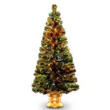 "Fiber Optics Radiance Fireworks 5"" Green Artificial Christmas Tree"