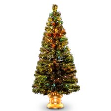 "Fiber Optics Radiance Fireworks 5"" Green Artificial Christmas Tree"