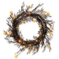 Halloween Wreath with Lights