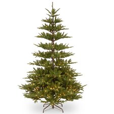 Glenwood 7.5' Green Fir Artificial Christmas Tree with 450 Clear Lights