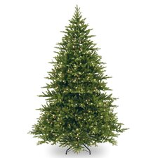 Readington 7.5' Green Fir Artificial Christmas Tree with 750 Clear Lights