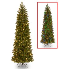 Downswept Douglas 7.5' Green Fir Artificial Christmas Tree with 350 Dual Color® LED Lights
