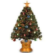 "Fiber Optics 3"" Firework Artificial Christmas Tree and Stand"