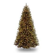 9' North Valley Spruce Artificial Christmas Tree with 700 Clear Lights