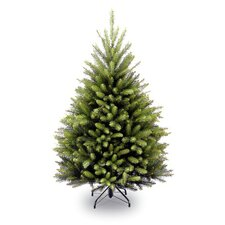 Dunhill Fir 4.5' Green Artificial Christmas Tree with Stand