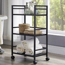 Marshall Three Shelf Rolling Utility Cart