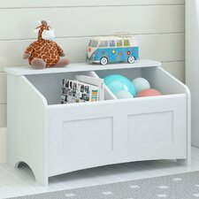 Toy Box with Section Divider