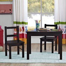 Kids 3 Piece Table & Chair Set