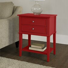 Franklin 2 Drawer End Table