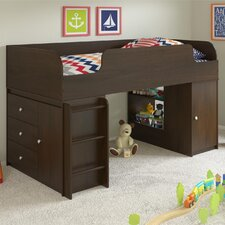 Elements Loft Bed with Ladder and Toy Box